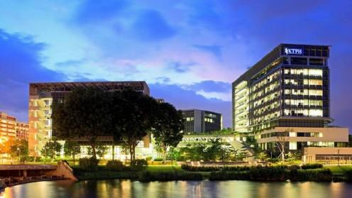 בית החולים KTPH בסינגפור (צילום: עמוד הפייסבוק של בית החולים)
