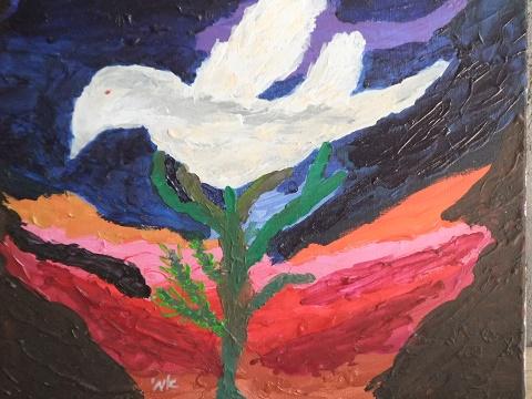 """""""היונה"""" מאת אמי שופמן"""