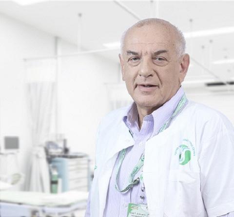 """פרופ' יוג'ין ליבוביץ (צילום: """"סורוקה"""")"""