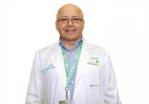 """ד""""ר ישראל מלמד (צילום: """"סורוקה"""")"""